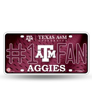 TX A&M LICENSE PLATE