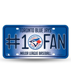 TORONTO BLUE JAYS LICENSE PLATE