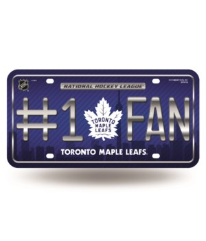 TOR MAPLE LEAFS LICENSE PLATE