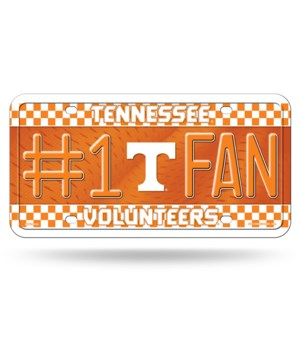 TENN VOLS LICENSE PLATE