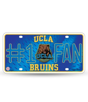 UCLA LICENSE PLATE
