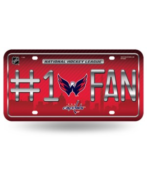 WASH CAPITALS LICENSE PLATE