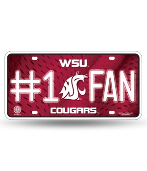 WASH STATE LICENSE PLATE
