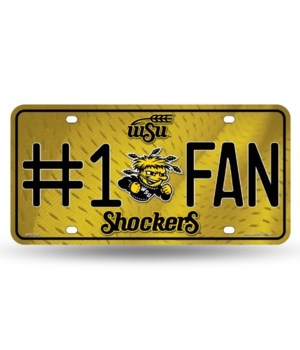 Wichita State Shockers License Plate