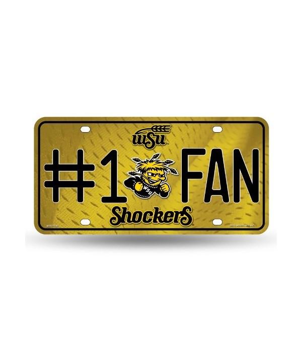 Wichita State Shockers License Plate