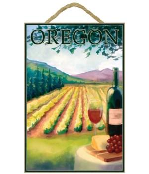 Wine Country & Vineyard - Lantern Press
