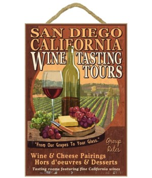 Wine, grapes, cheese and vineyard Wine T