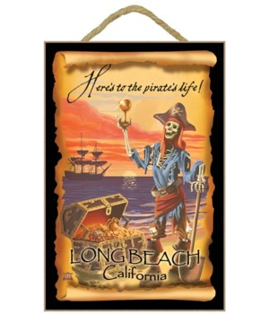 """Here's to a pirate's life! """"Long Beach,"""
