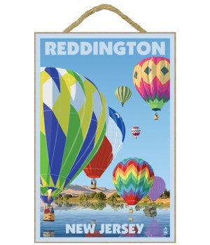 "Hot Air Balloons ""Reddington, New Jersey"