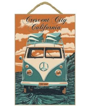 """VW Van - """"Crescent City, California"""""""