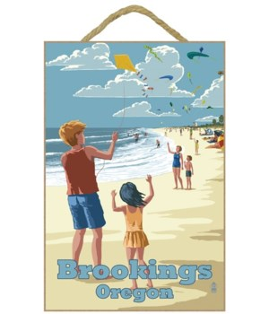 "Kite Flyers ""Brookings, Oregon"""