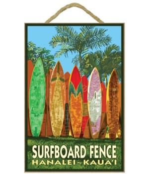 Hanalei, Kaua'i - Surfboard Fence - Lant