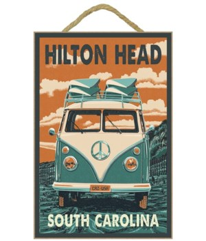 Hilton Head, South Carolina - VW Van Let