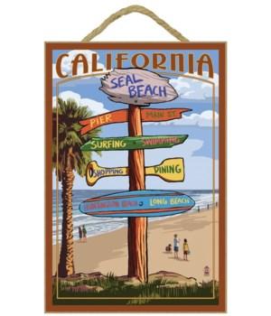 Seal Beach Destinations Sign (custom - M