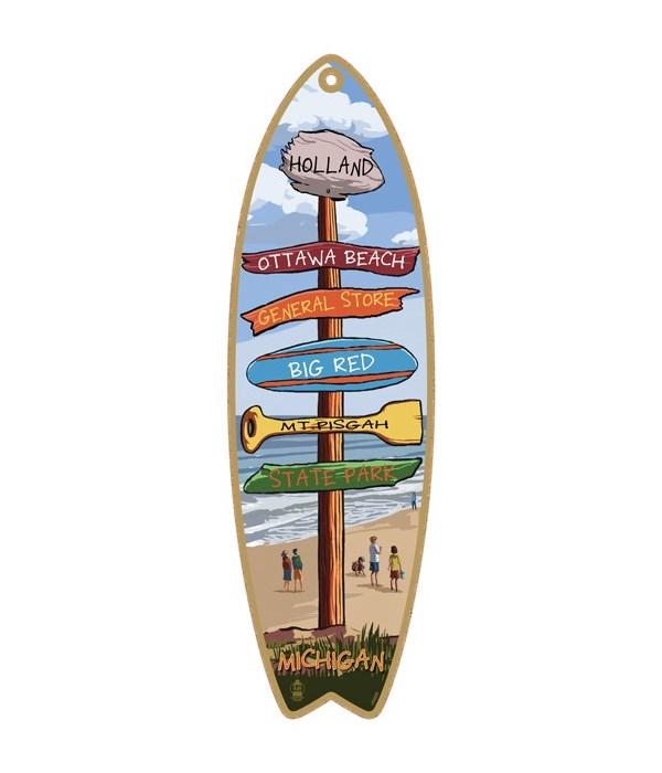 Destination Beach Custom Surfboard
