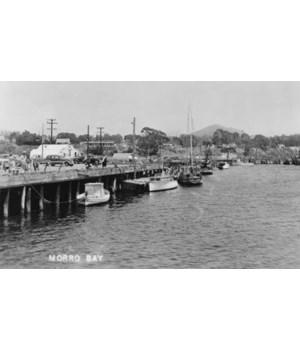 Morro Bay, California Fishing Boats Wate
