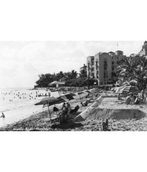 HoFlulu, Hawaii View of Waikiki Beach a