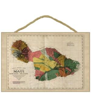 Maui, Hawaii - (1885) - PaFramic Map