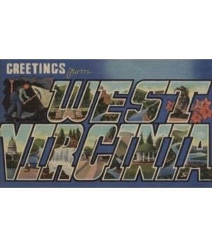 Greetings from West Virginia - 1939