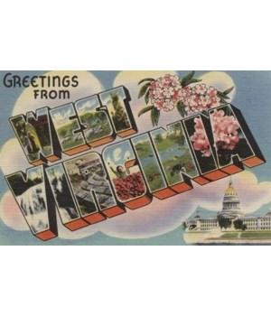 Greetings from West Virginia - 1945