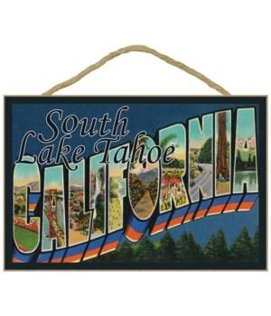 Greetings from South Lake Tahoe, Califor