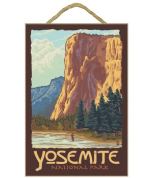 El Capitan Yosemite - Lantern Press 7x10