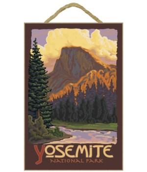 Half Dome Yosemite - Lantern Press 7x10