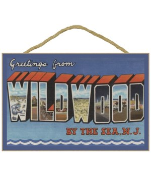 Wildwood-By-The-Sea, New Jersey - Large