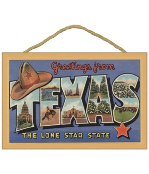 Texas - Greetings From the Lone Star Sta
