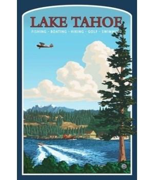 Lake Tahoe, California - Lantern Press 7