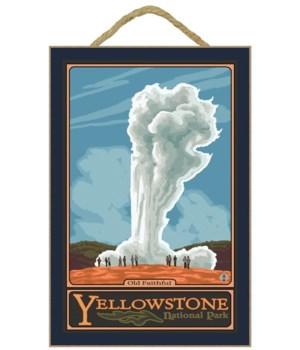 Old Faithful Geyser - Yellowstone Nat'l