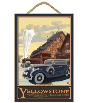 Old Faithful Inn - Yellowstone Nat'l Par