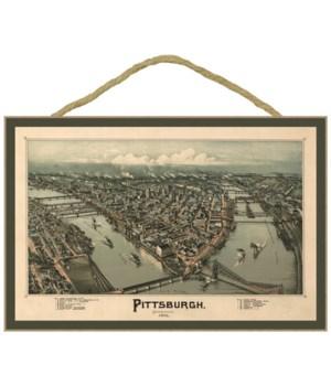 Pittsburgh, Pennsylvania - City Lights a