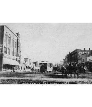 Red Cloud, Nebraska - Webster St 1912