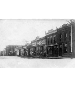 Osceola, Nebraska - National Bank 1915