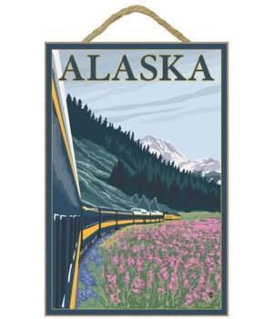 Alaska Railroad - Alaska - Lantern Press
