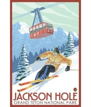 Wyoming - Jackson Hole Grand Teton Skiin