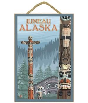 Alaska Totem Poles - Juneau, Alaska - LP