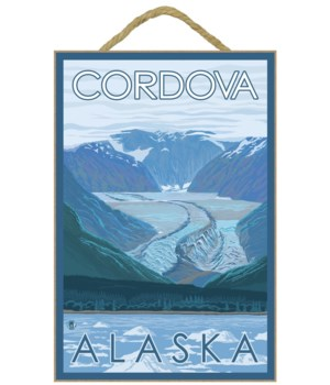 Glacier Scene - Cordova, Alaska - LP Ori