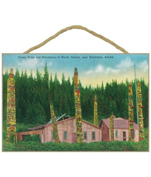 Ketchikan, Alaska - Haida Indian Residen