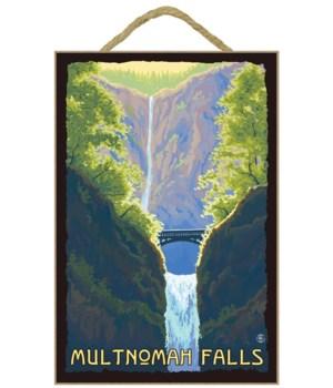 Multnomah Falls, Oregon - LP Original Po