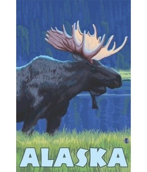 Alaska - Moonlight Moose - LP Original P