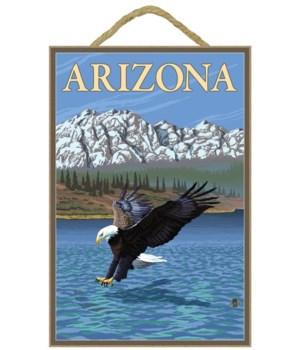 Eagle Diving - Arizona - LP Original Pos