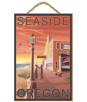 Seaside, Oregon - Aquarium View - LP Ori