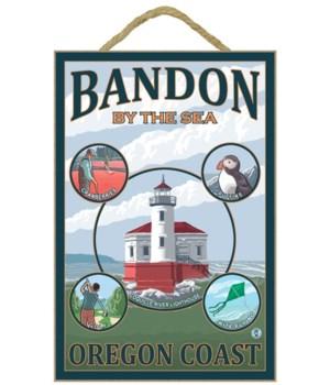 Bandon, Oregon - Montage Scenes - Lanter