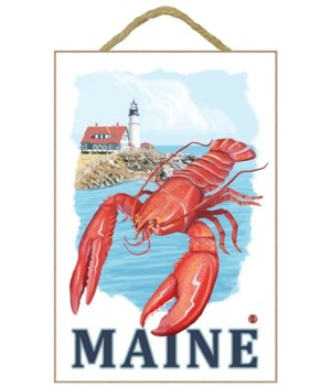 Lobster & Portland Lighthouse - Maine -