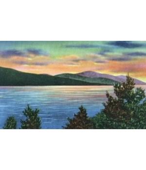 Lake George, NY - Sunrise Buck Mountain