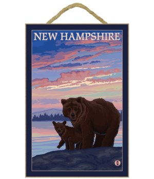 New Hampshire - Bear and Cub - LP Origin