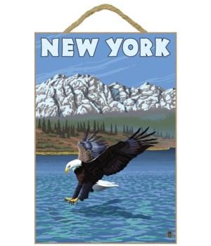 New York - Eagle Fishing - LP Original P