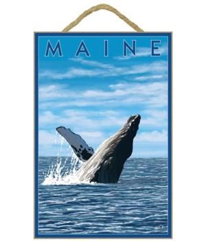 Maine - Humpback Whale Scene - LP Origin